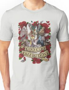 Fall in Dove Unisex T-Shirt