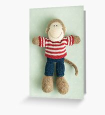 mr minky Greeting Card