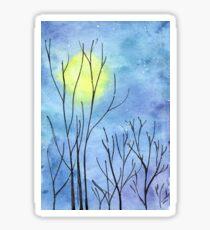 Last Full Moon before the Equinox Sticker