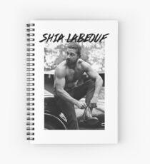 Shia Labeouf Spiral Notebook