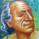 "Charles Bukowski - ""Guru Buk"" by Sean Poole"