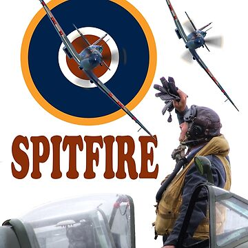 The New Spitfire Tee Shirt 2017 by Arrowman