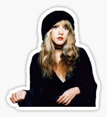 stevie nicks 1970s fleetwood mac Sticker