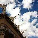 Serenading Angels / Sky Scrapers by George Parapadakis (monocotylidono)