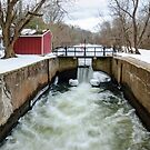 Griggstown Lock by Debra Fedchin