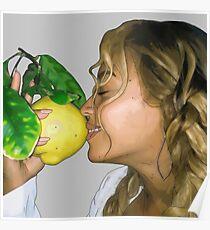 Beyonce Lemonade digital drawing  Poster
