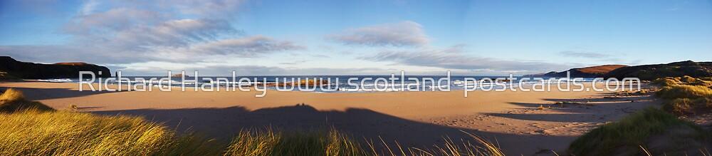 Sandwood Bay Panorama by Richard Hanley www.scotland-postcards.com