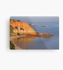 Red Bluff   Black Rock   Victoria   Australia Metal Print