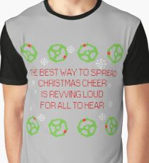 Christmas cheer with steering wheels Graphic T-Shirt