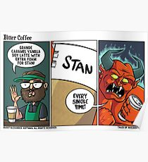 Bitter Coffee Poster