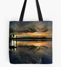 Sun Set Blues Tote Bag