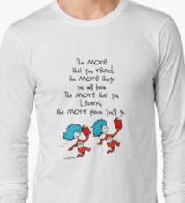 Dr Seuss Saids Long Sleeve T-Shirt