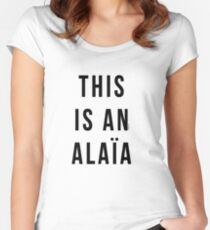THIS IS AN ALAIA Women's Fitted Scoop T-Shirt