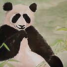 panda by Leanne Inwood