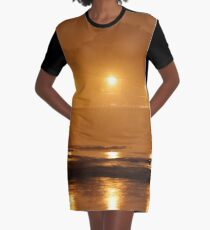 blackfriars bridge in the fog Graphic T-Shirt Dress