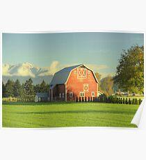 Heritage Barn Poster