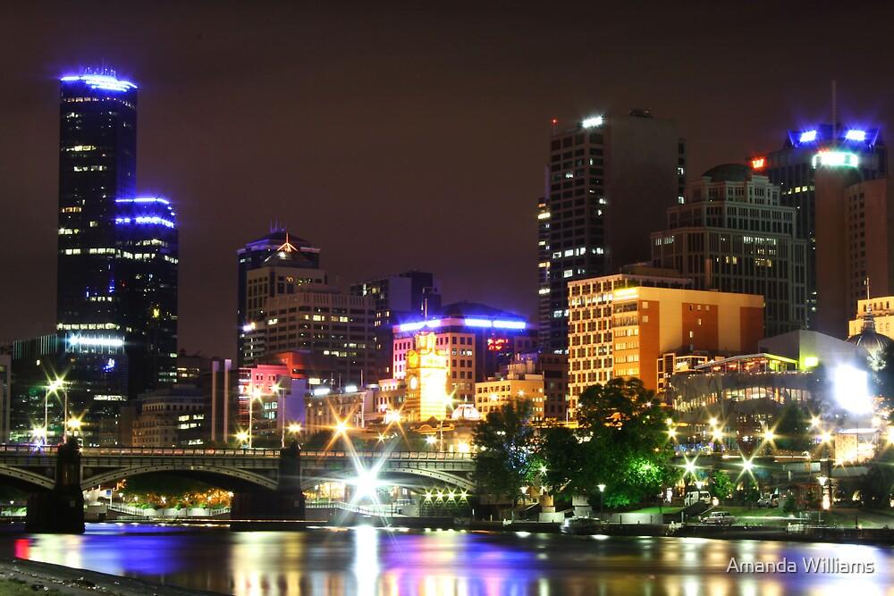 City lights  by Amanda Williams