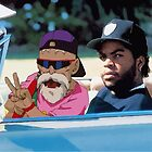 Ice Cube x Master Roshi by xtal