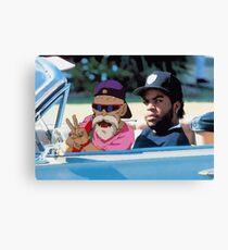 Ice Cube x Master Roshi Canvas Print