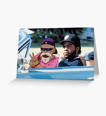 Ice Cube x Master Roshi Greeting Card