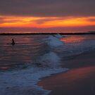 Winter Sunset LBNY by KarenDinan