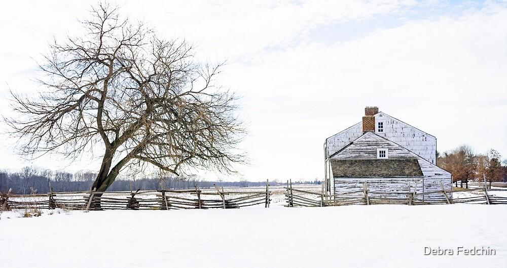The Craig House in Winter by Debra Fedchin