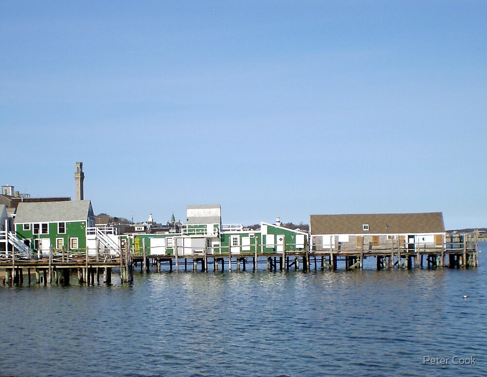 Captain Jacks Wharf by Peter Cook