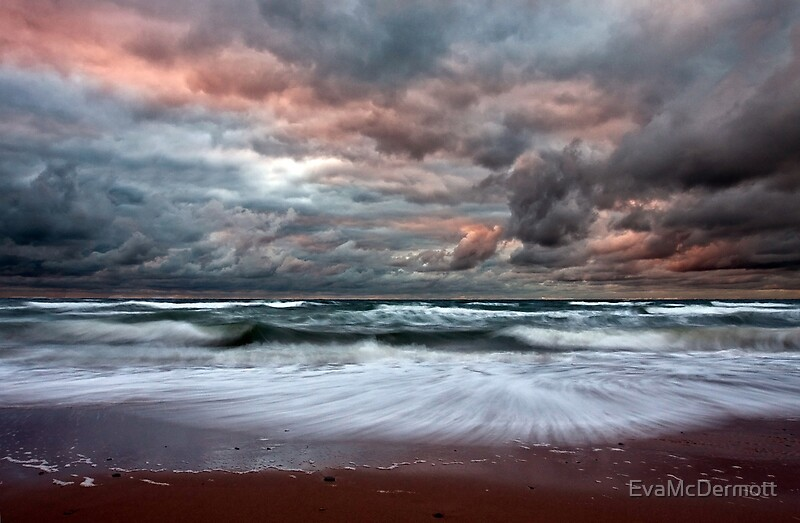 Quot Stormy Skies Of Inverness Beach Nova Scotia Quot By