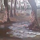 Mystical forest by Andypainting