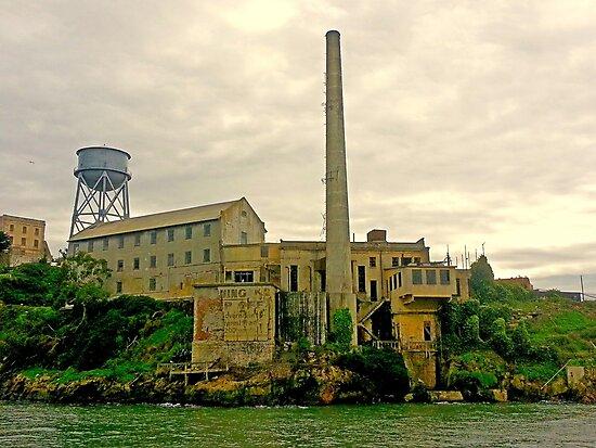 Alcatraz from the West  by Robert Meyers-Lussier