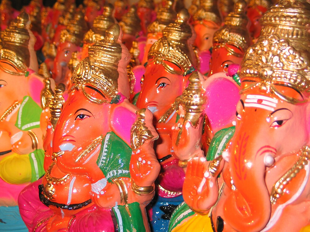 Ganesh for sale by Nadine Incoll