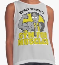Dwight Schrute's Gym for Muscles Contrast Tank