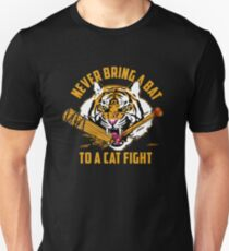 khary payton - never bring a bat to a cat fight - High Resolution - official T-Shirt