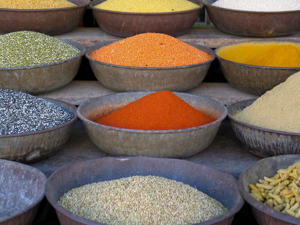 Spices by Nadine Incoll