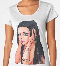 Inked Girl Women's Premium T-Shirt