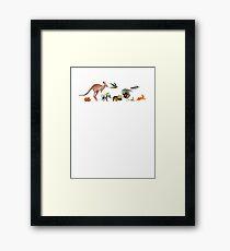 Australian animals 2 Framed Print
