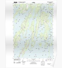 Maine USGS Historical Map Orrs Island 20110830 TM Poster