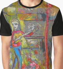 guitar art opening Graphic T-Shirt