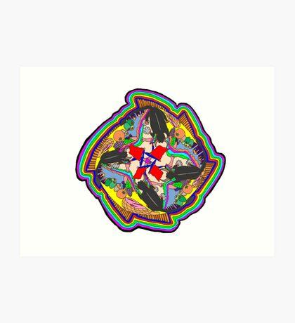 Spanish Mandala Art Print