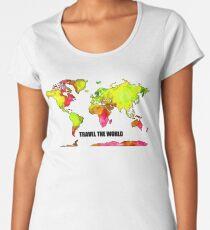 Travel the world Women's Premium T-Shirt