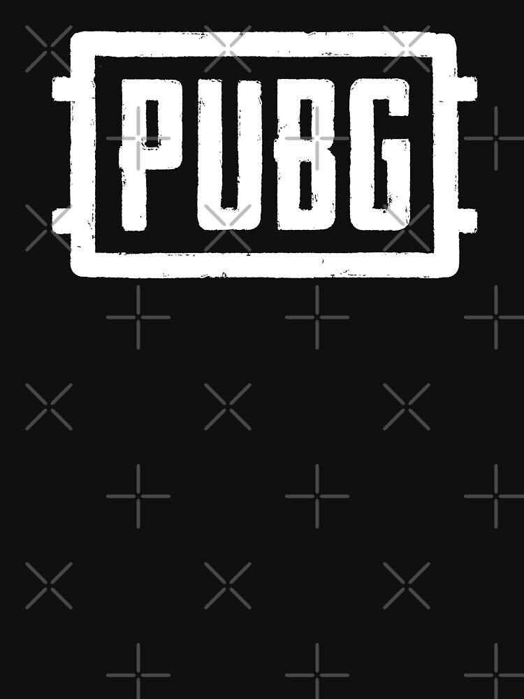 PlayerUnknown's Battlegrounds - PUBG - White by SaluteTheGeeks