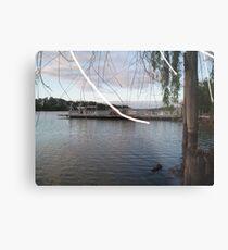 Mannum Ferry. Metal Print