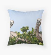 Pelican's Roost Throw Pillow