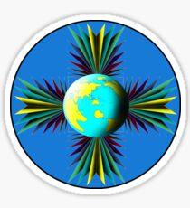 Earth Logo for Sale Sticker