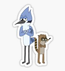 Mordecai and Rigby Sticker