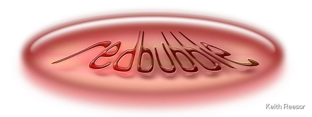 Redbubble logo by Keith Reesor