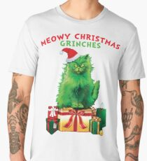 MEOWY Christmas Grinches Men's Premium T-Shirt