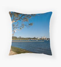 Crawley Bay, Perth Western Australia Throw Pillow
