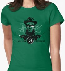 Junky Revisited. William S. Burroughs Women's Fitted T-Shirt