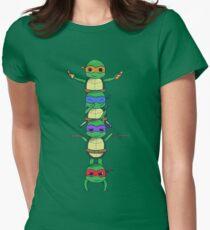 Ninja Turtle Women's Fitted T-Shirt